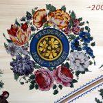 décoration rosace table d'harmonie clavecin